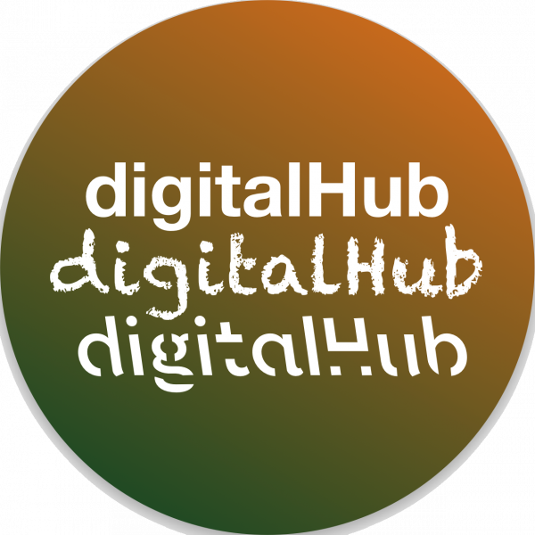 digital hub twitter icon